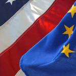 EU a US vlajka
